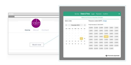 Appointedd Salon Software - Online bookings from Your Website
