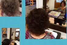 Torsdag 21/9 (i morgon) pågår arbetet med vattenskadan i salongen. Kundbilder på Anna-Lena