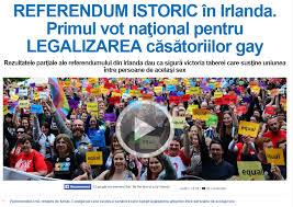 Referendum Irlanda, nu mai  o țară crestina