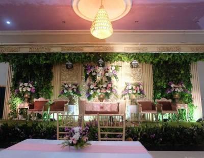 Paket Dekorasi Gedung – samara wedding organizer