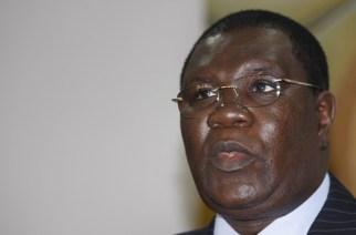 Senegal's Interior Minister Ousmane Ngom