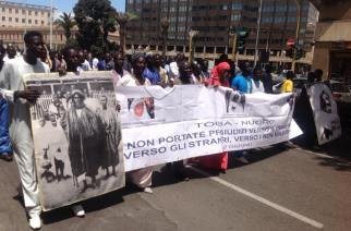 ITALIE : La communauté Mouride de Sardaigne marche pour la paix à Cagliari