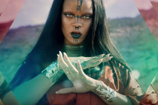 Rihanna Sledgehammer clip