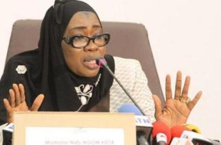 Nafissatou Ngom, ex-présidente de l'Office national de lutte contre la fraude et la corruption (OFNAC) du Sénégal