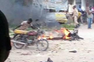 EXCLUSIVITÉ : Les images du nouvel attentat de Boko Haram sur le marché de Mora survenu ce matin