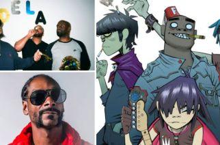 VIDÉO – De La Soul et Snoop Dogg seront sur le nouvel album de Gorillaz