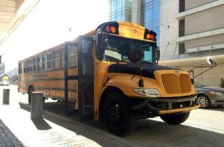 Le bus scolaire utilisé pour voyager sur Mars en réalité virtuelle. LOCKHEED MARTIN, FLICKR
