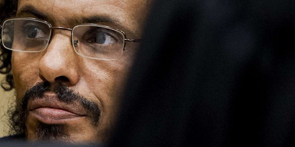 Ahmad Al Mahdi Al Faqi à la Cour pénale internationale le 30 septembre 2015. © Robin van Lonkhuijsen - AP - SIPA
