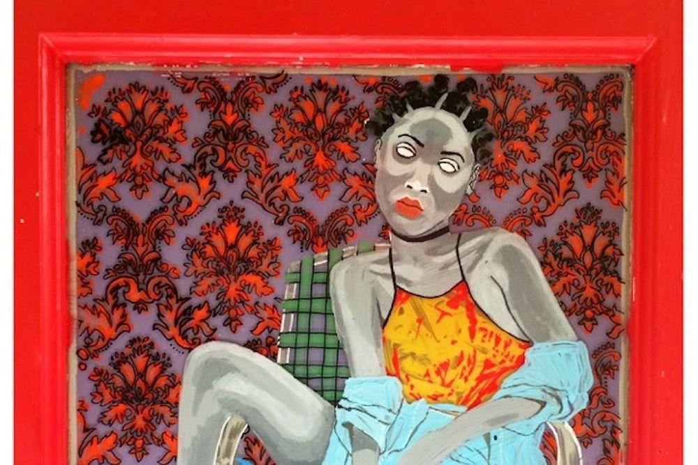 Barka, né en 1986, artiste de la diaspora. « Orange is the New Black ». © Courtesy of the artist and Galerie Mikael Andersen