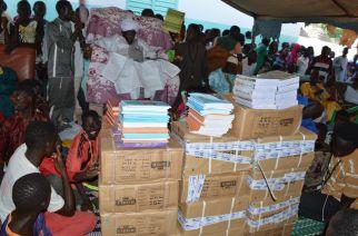 Kaffrine : Un important lot de matériels didactiques offerts aux Instituts Islamiques Francophones de Cheikh Abdoulaye Wilane