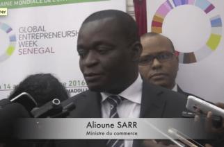 VIDÉO – 150 projets de jeunes entrepreneurs seront financés selon le ministre du Commerce, Alioune Sarr