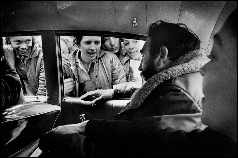 Fidel Castro à la Havane en 1964. Elliot Erwitt. Magnum Photos
