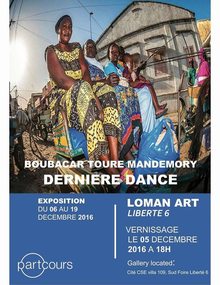 Boubacar Touré mandémory, dernière danse,expo,Loman Art,liberté 6, du 6 au 19 décembre 2016