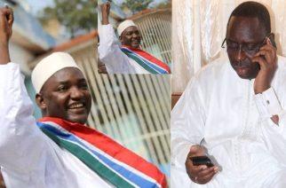 Ça craint en Gambie- Le Président élu, Adama Barrow, appelle à » descendre dans les rues aujourd'hui même»…