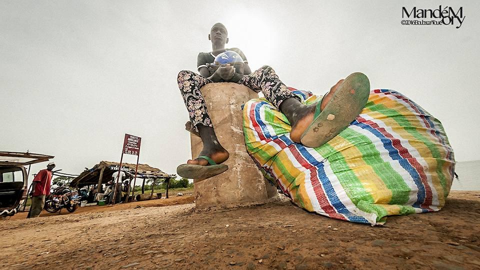 Sandiniery, embarcadère, Boubacar Touré mandémory, photo