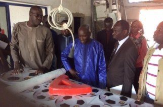 Visite inopinée du Ministre de l'industrie Aly Ngouille Ndiaye à la SODIDA