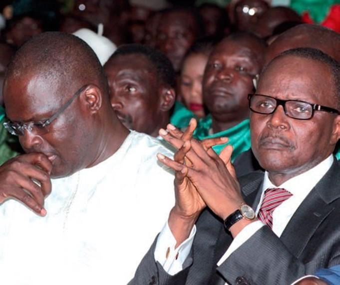 Ousmane Tanor Dieng et khalifa Sall