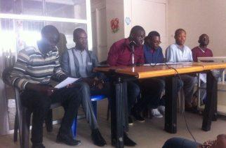 Conference de presse des jeunes de l'APD : L'APD ira seul au élections législatives si…