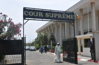 Locaux de la Cour suprême à Dakar