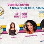 Mulheres do Samba na Roda de Samba do Imperator