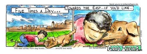 DOG PRAY