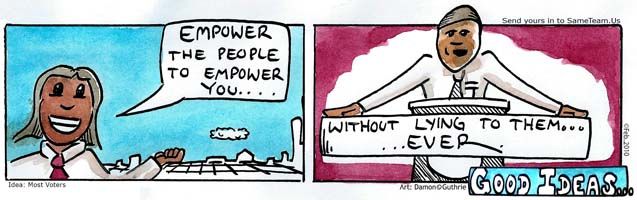 EMPOWER WITHOUT LYING