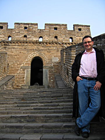 Me at Great Wall of China at Mutianyu