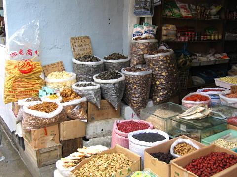 Street market in Shanghai