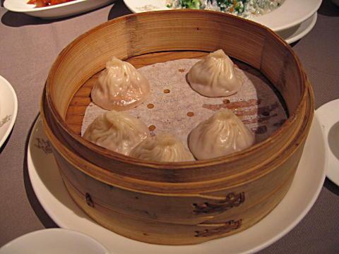 Jade Garden pork dumplings