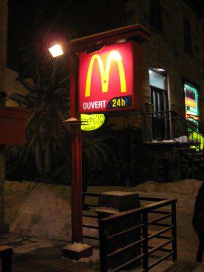 McDonald's in Montreal