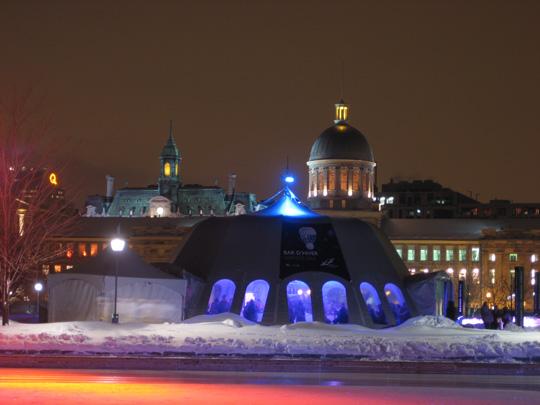 Skating at le vieux port de Montréal