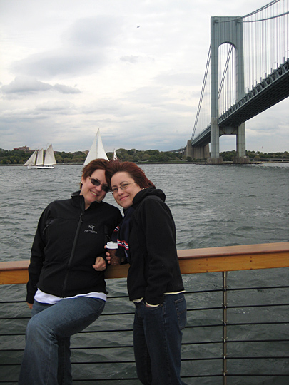 Anne and Ginny at New York Classic Week