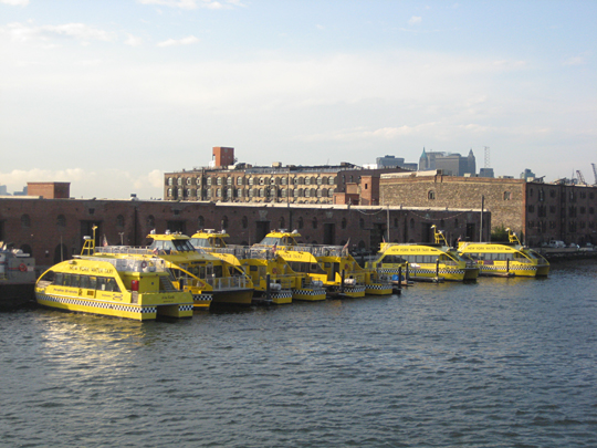 New York Water Taxi berth