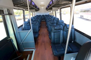 Samson Trailways Mini Bus Interior