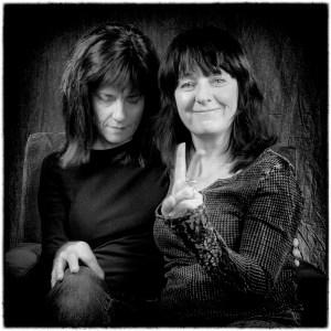 Colleen Longville; educator, and Judith Brandon; artist