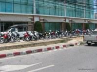 Phuket Scooter Parking