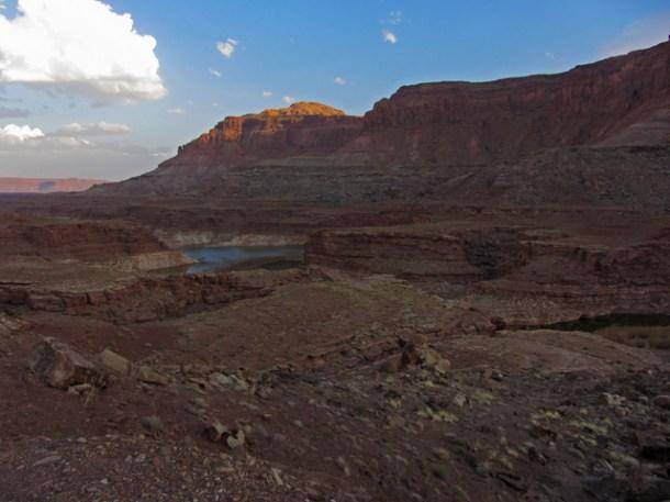 Glen Canyon Camp-site Terrain & View