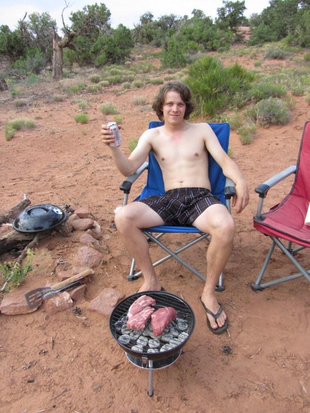 How do you enjoy your remote camp-sites?