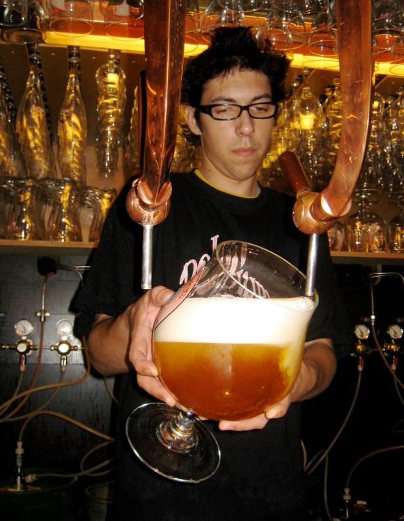Huge beer