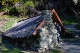 Chinese village hut