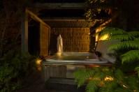 Wairua Lodge spa pool