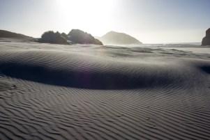 Wharariki Beach Windswept Patterns in Sand