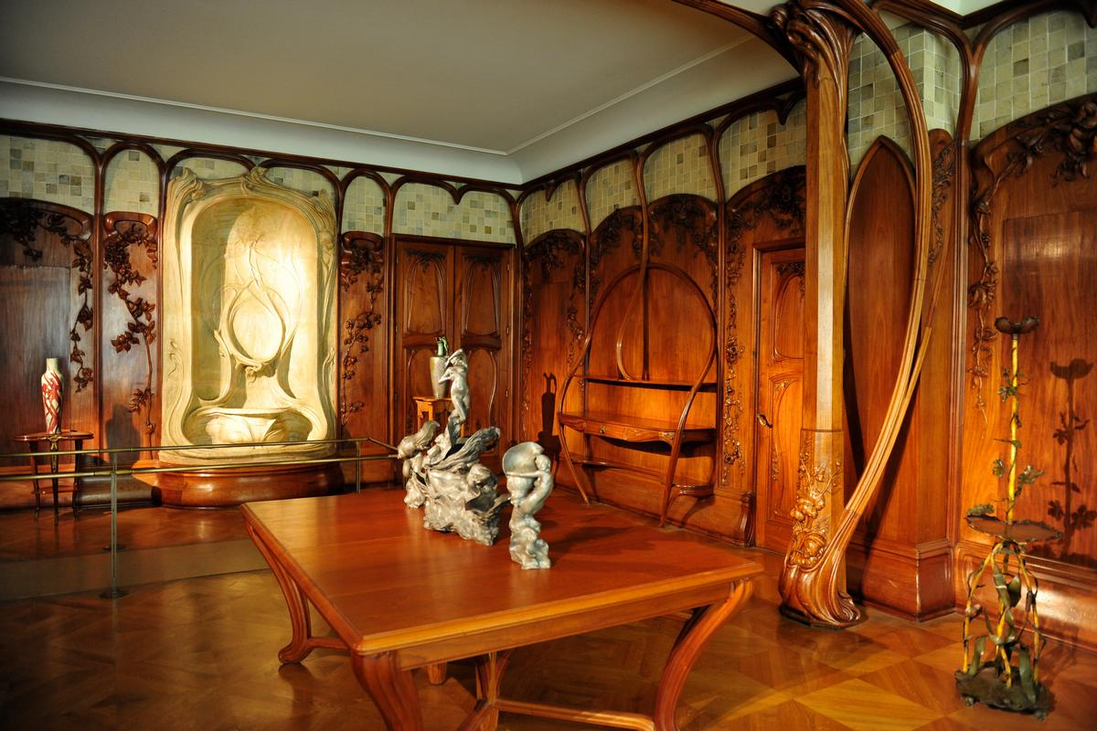 Art nouveau estilo de arte de dise o de interiores for Decoracion art nouveau
