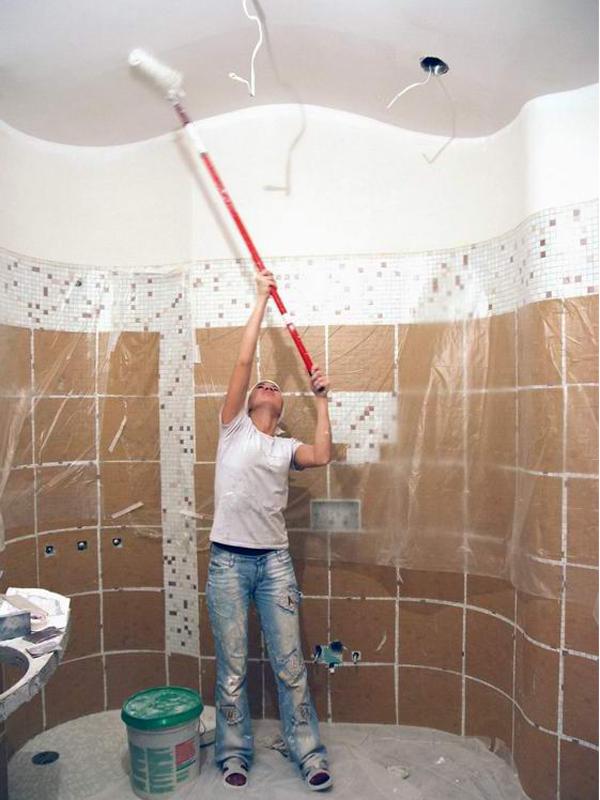 Ремонт ванной комнаты своими руками для начинающих