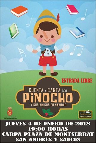 CARTEL MUSICAL PINOCHO