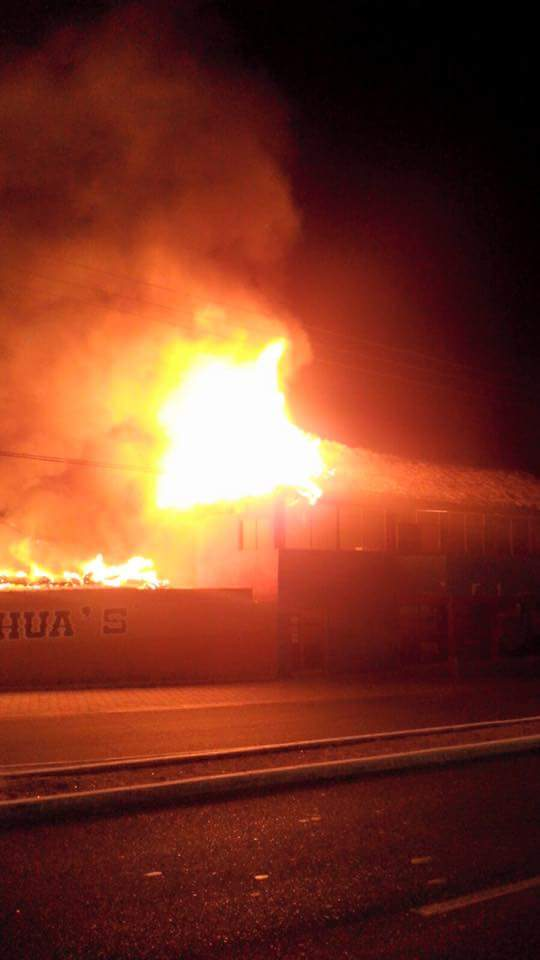 Chihuahua's restaurant, formerly Banana's, mysteriously burns down last week, was it arson?