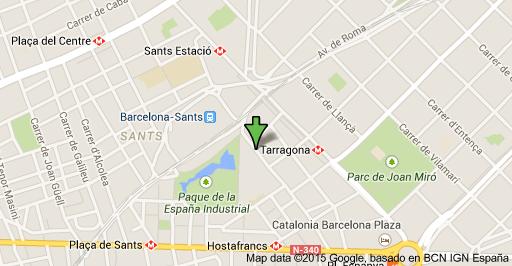Mapa de localización Sánchez Almendros