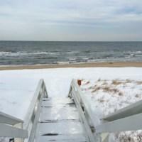 Snowy Beach