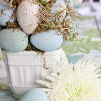 Easter Egg Topiary Trees