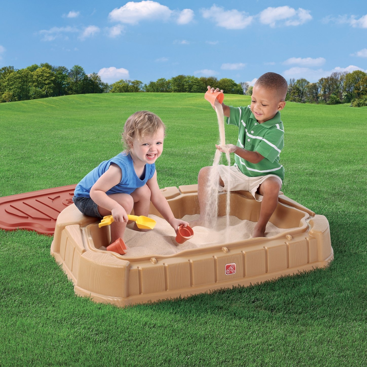 Peculiar Kids At Two Kids A Sandbox Gif Two Kids Step Ly Playful Little Dunes Sandbox A Guide To Sandbox A Sandbox Shock baby Two Kids In A Sandbox